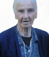 Maria Celeste Rodrigues Barros Lima – 96 Anos – Aboim das Choças